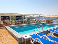 Nile cruise swimming pool