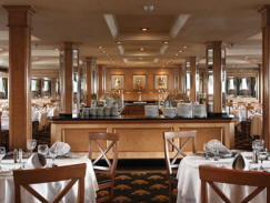 Nile cruise boat restaurant