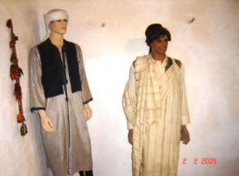 Traditional costumes of Siwans